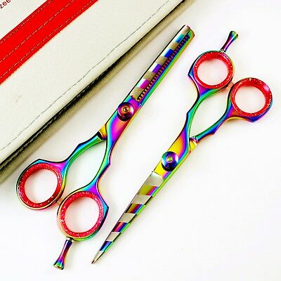 Professional Hair Cutting/Thinning Scissors Barber Shears Hairdressing Set 5.5""