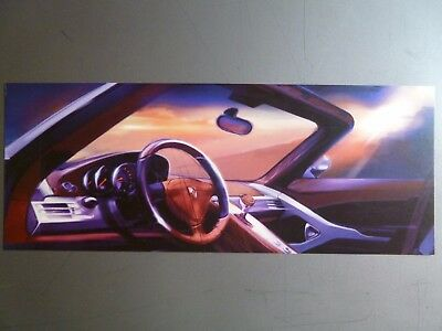 2004 Porsche Carrera GT Showroom Advertising Sales Poster RARE!! Awesome L@@K