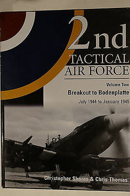 WW2 British Commonwealth 2nd Tactical Air Force Vol.2 1944-1945 Reference Book