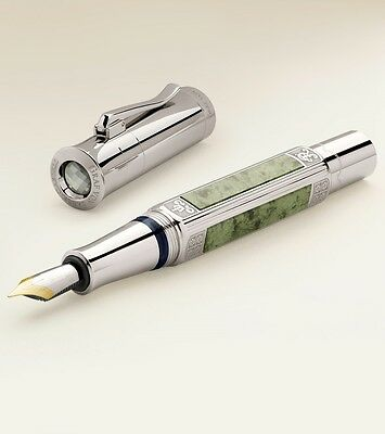 Graf von Faber Castell 2015 Platinum Pen of the Year - F - Factory Sealed!!
