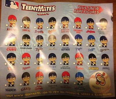 Pick Ur Favorite Team Figure 2016 Mlb Baseball Teenymates Series 3 Catchers