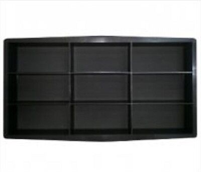 "9 Bricks Plastic Mold Garden Stepping Paving Mould 23,5""x12""x2,3"""