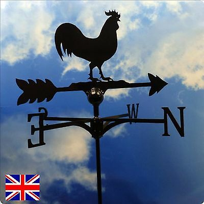 High Quality British Made Cockerel/Rooster Weathervanes.(10V4)