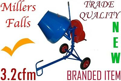 Cement Concrete Mixer 3.2cfm Trade quality, 240v, Branded Item with service++++