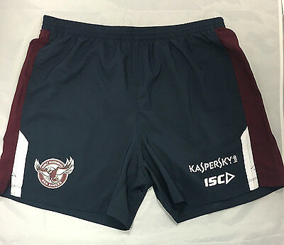 Manley Sea Eagles  2015 - MAROON GYM/Training Shorts - NRL