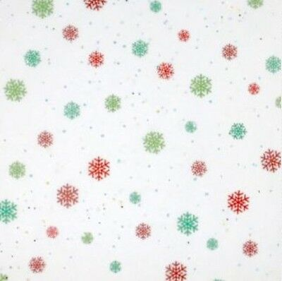 Modern Christmas Snowflakes Gift Wrap Wrapping Paper Tissue Paper Biodegradable