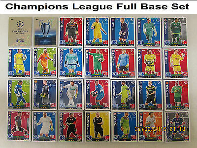 Full Complete Base Set of 470 Cards + Binder Champions League Match Attax 15/16