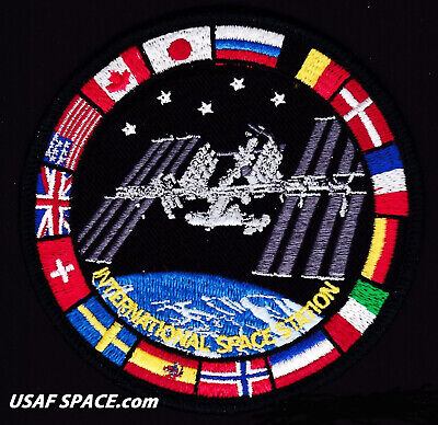 AUTHENTIC AB Emblem CYGNUS NG-14  Northrop Grumman CRS ISS Mission SPACE PATCH