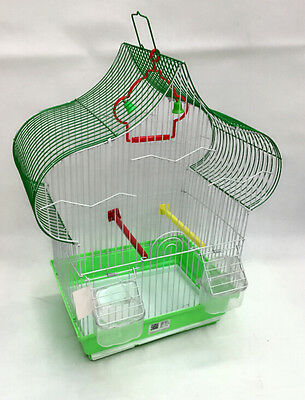 ASIAN DESIGN ROOF CAGES BUDGIE FINCH BIRDS 30x27x47CM BUDGIES CANARY HOME PET