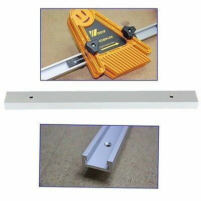 "12"" Inch 300mm T-tracks T-slot Miter Track Jig Fixture Slot For Router Table New"