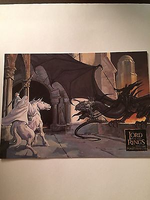 Lord Of The Rings, The Masterpieces 2006 Topps Promo Card P2