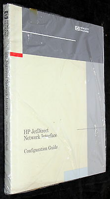 Hp Jetdirect Network Interface Configuration Guide Book Manual P/n: J2552-90001