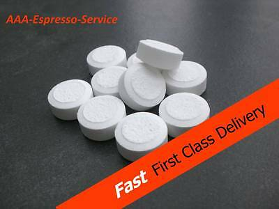 12x Professional cleaning tablets for espresso machines with cleaning programme