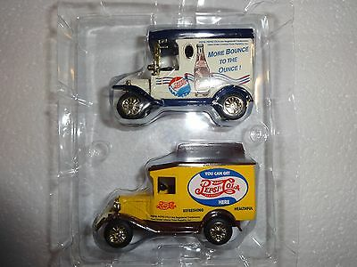 Lot Of 2 Pepsi Cola Delivery Trucks