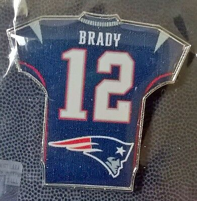Tom Brady New England Patriots NFL Jersey Pin Badge