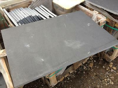 Natural Black Lime Stone Hearth 900 x 600  (like slate) COLLECTION ONLY
