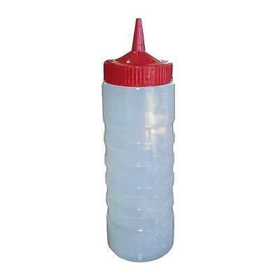 Sauce / Squeeze Bottle with Red Top, 750ml