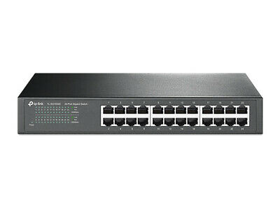 TP-Link TL-SG1024D 24-Port Gigabit Network Switch, Desktop / Rackmount Hub