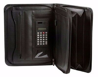 Spirax A4 Executive Zippered Compendium 300 x 355 x 50mm 56913.***