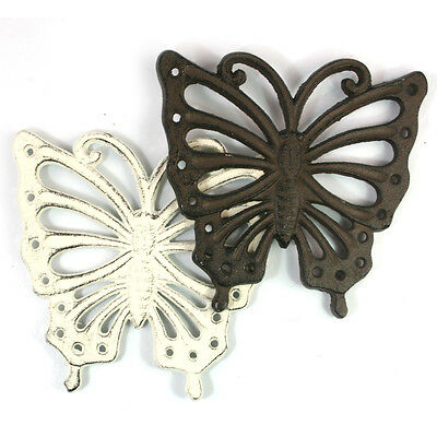 Cast Iron Trivet Cat Butterfly Heart Chicken Kitchen Cooking Pot Pan Stand