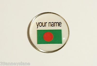 anneys - your OWN PERSONALISED  ** Bangladesh flag *** golf ball marker!!