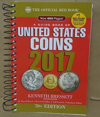 2017 Red Book of U.S. Coins Yeoman 70th ed. Softcover Spiral United States coin
