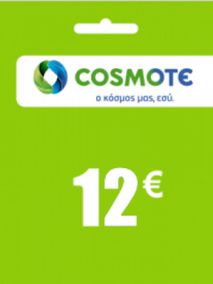 CA 12€ COSMOTE Greek TOPUP Refill no Telus no Rogers no Bell Absolutely  Genuine!