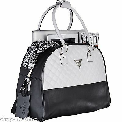 """Guess Silverton Dome 15"""" Laptop / MacBook Pro / Tablet Travel Tote Bag - New"""