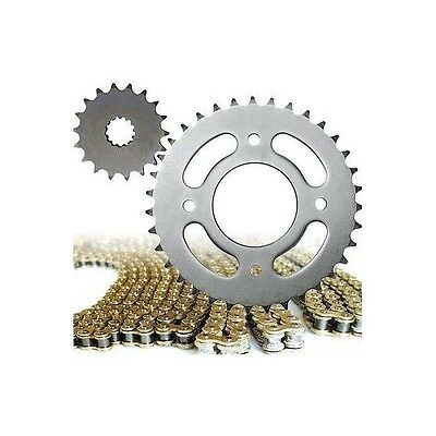 Honda CBR125 2004 - 2010 Heavy Duty Gold Sprocket & Chain Drive Kit 2008 2009