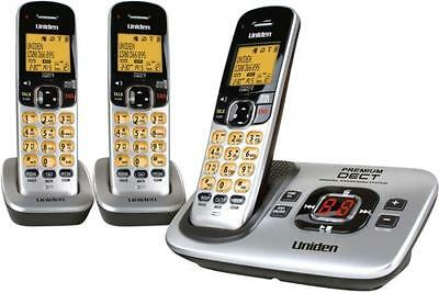 Uniden Premium Dect 3135+2 Digital Cordless Phone System Works In Black Out^