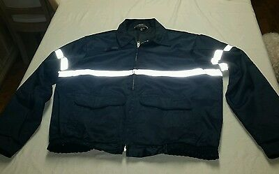 Topps Men's Jacket with Reflective Strip 2XL XXL