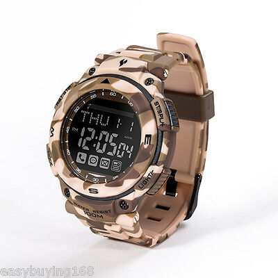 Youngs Reloj deportivo inteligente impermeable Bluetooth APP Android iOS Hombres