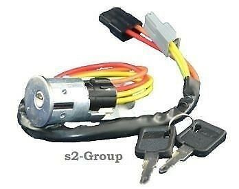 Renault Laguna 93-01 Master 98-10 Ignition Switch Barrel Steering Lock With Keys