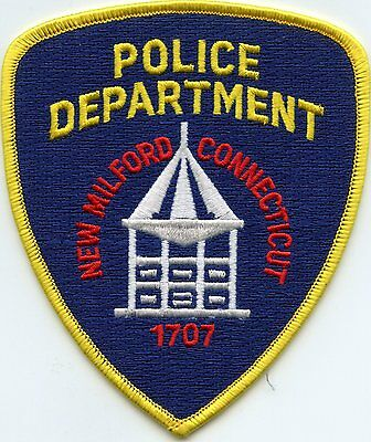 New Milford Connecticut Ct Police Patch