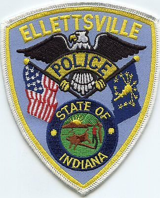 Ellettsville Indiana In Police Patch