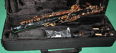SAXOPHONE SOPRANO Sib+Fa# NEW ORLEANS® CORP NICKEL COULEUR -CLES OR + BEC+REEDS