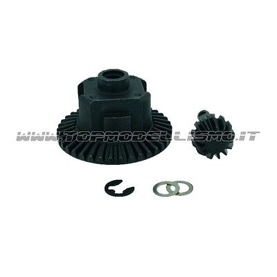 Coppia conica completa in metallo per AXIAL - XTRA SPEED