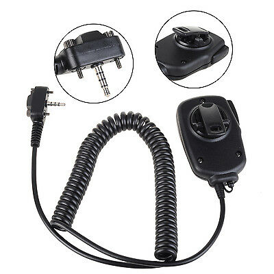 Shoulder Remote Handheld Mic 3.5mm Headphone Jack with Light for 1 Pin Vertex