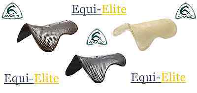 Acavallo Non Slip Shaped Gel Pad Shock Absorbing – Black/Brown/Clear - Full Size