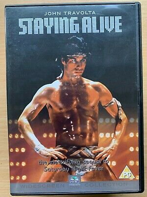 John Travolta STAYING ALIVE | 1983 Saturday Night Fever Sequel 2 | UK DVD