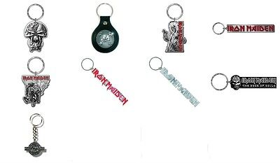 Iron Maiden Keychains NEW OFFICIAL Choice of 10 designs