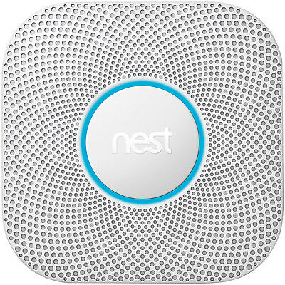 Nest Protect 2nd Gen Smoke and Carbon Monoxide Alarm WiFi Battery Operated