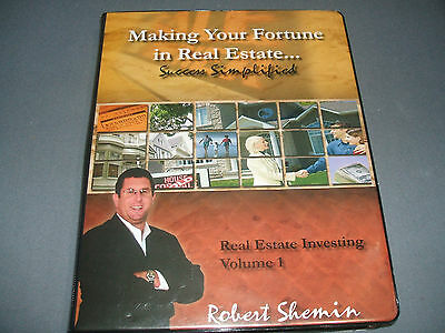 Robert Shemin Making Your Fortune in Real Estate Investing Volume 1