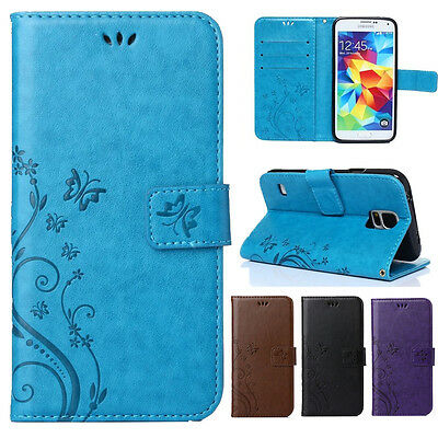 Wallet Flip Leather Pattern Slots Stand Case Cover For Samsung Note 8 S8 Plus S7