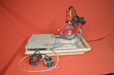 MK Diamond MK-270 Wet Cutting Tile Saw Works Perfect, Tested and Guaranteed