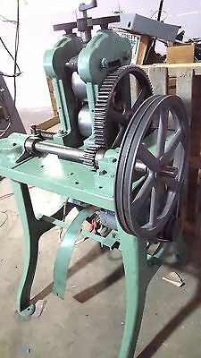 Rolling Mill 5 x 3 inch 2 HI 2HP Roll Flat Stock for coins coining silver gold