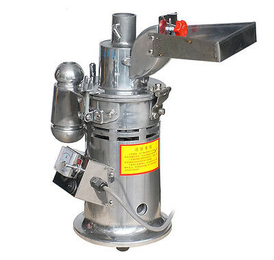 15kg/h DF-15 Pulverizer Automatic Continuous Hammer Mill Herb Grinder 110V