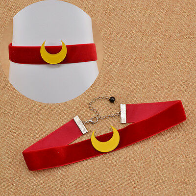 Choker Cartoon Sailor Moon Halskette Band Süß Schmuck Beauty Fantasie Neu Japan