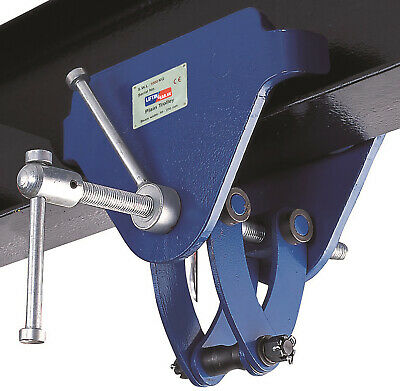 LiftinGear 3 Tonne Adjustable Trolley Beam Girder Clamp 76-203mm