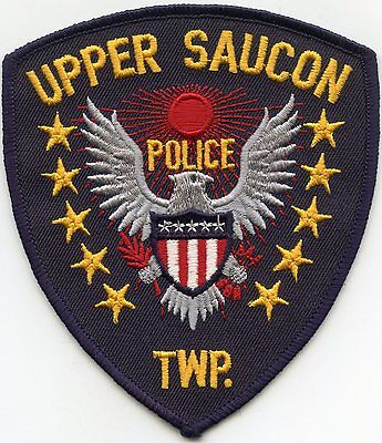 Upper Saucon Township Pennsylvania Pa Police Patch